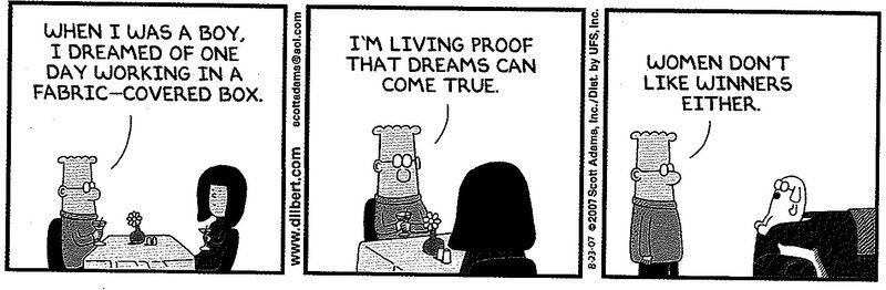 Dilbert cube