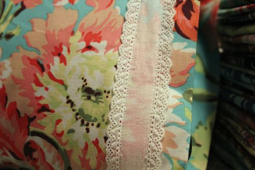 New cuddle pillow lace