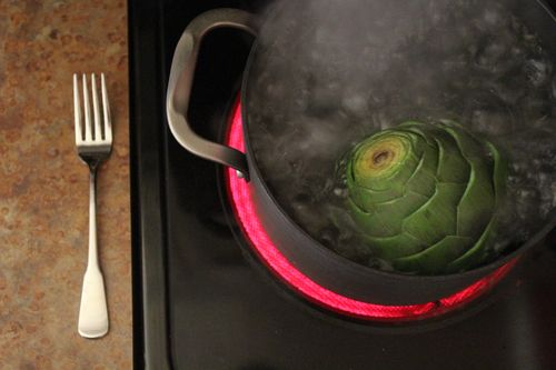 How to Cook an Artichoke 078