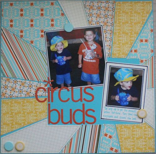 Circus buds full page