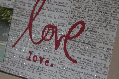 Love love glitter