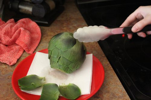 How to Cook an Artichoke 090