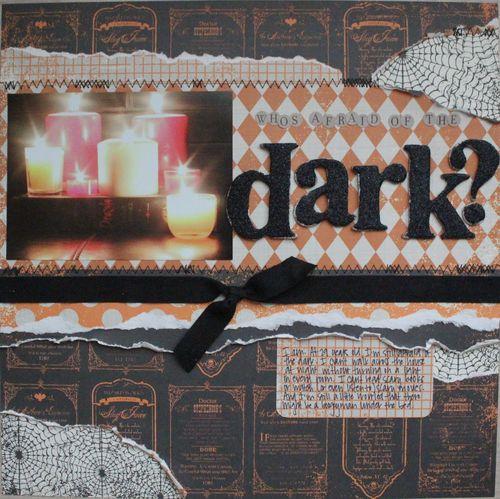 Dark full page