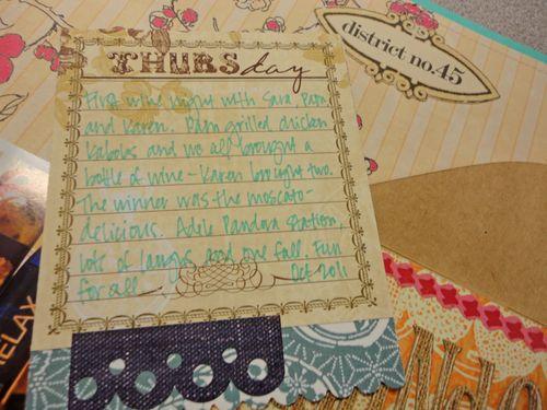 Round one journaling